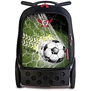 Рюкзак на колесах Nikidom GOAL XL Футбол арт. 9000 (27 литров)